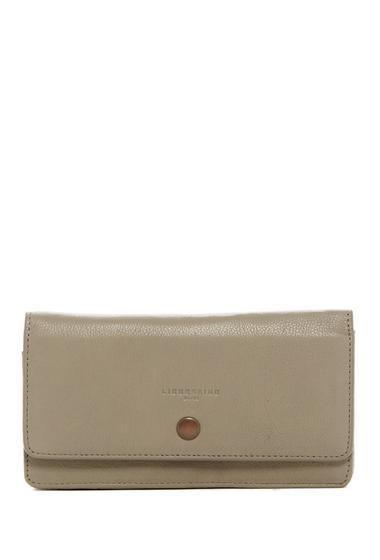 Genti Femei Liebeskind Berlin Slam Pocket Leather Wallet NEW FLINT