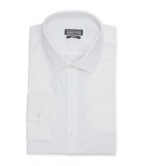 Imbracaminte Barbati Kenneth Cole Reaction White Slim Fit Dress Shirt White