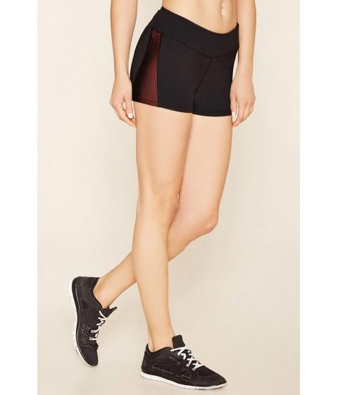 Imbracaminte Femei Forever21 Active Mesh-Paneled Shorts Blacksunset