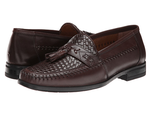 Incaltaminte Barbati Nunn Bush Strafford Woven Moc Toe Slip-On Brown