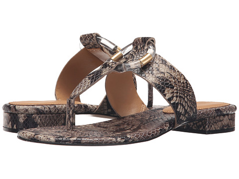 Incaltaminte Femei Calvin Klein Aiden Natural Snake Print Leather