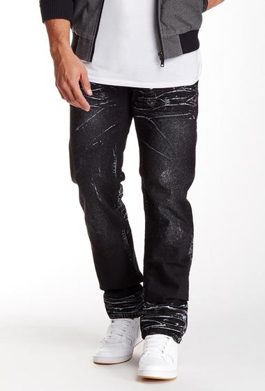 Imbracaminte Barbati Prps Mandrill Metallic Splatter Jean BLACK
