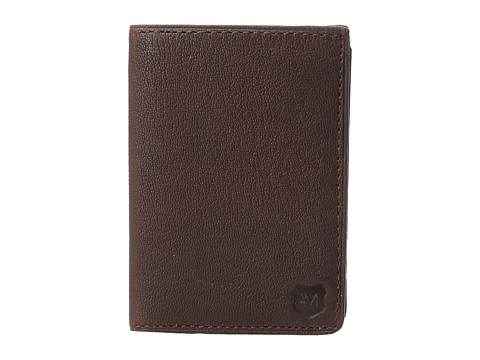 Genti Barbati Marc New York by Andrew Marc Bowery Leather Carryall Wallet Cognac