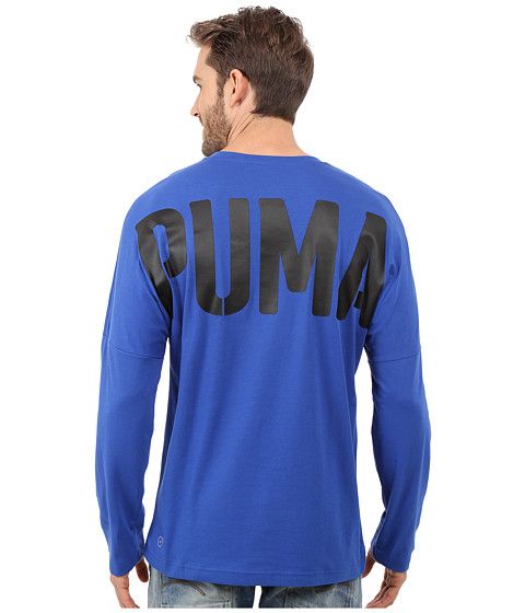Imbracaminte Barbati PUMA Evo Bold Logo Long Sleeve Tee Surf The Web