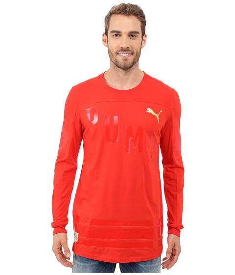 Imbracaminte Barbati PUMA Bardown Jersey Puma Red