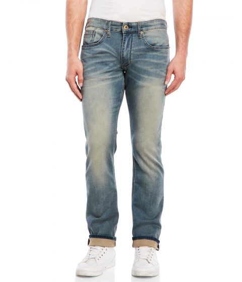 Imbracaminte Barbati Buffalo David Bitton Ash-X Basic Skinny Jeans Light Vintage