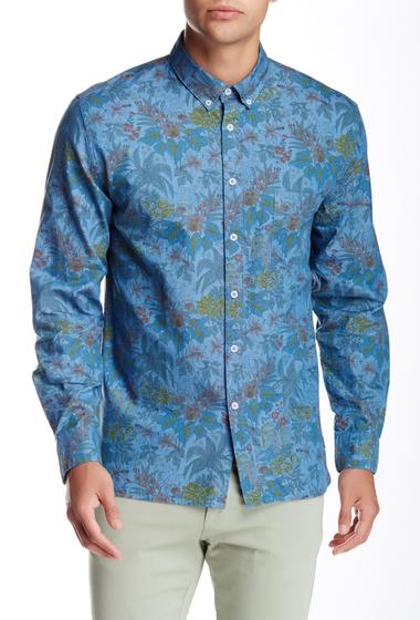 Imbracaminte Barbati Barney Cools Montana Long Sleeve Printed Shirt Summer Floral