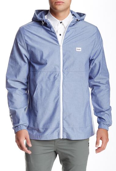 Imbracaminte Barbati Barney Cools Zip Spray Hoodie Jacket Blue