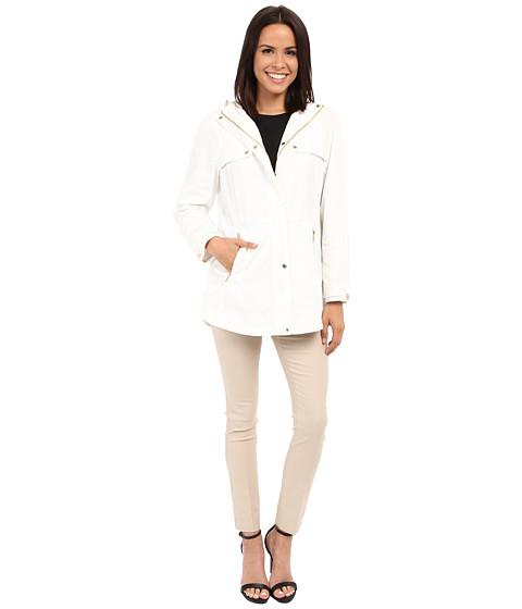 Imbracaminte Femei Calvin Klein Anorak w Drawstring Waist Soft White