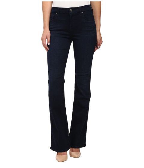 Imbracaminte Femei 7 For All Mankind Short Inseam Kimmie Bootcut in Slim Illusion Luxe Rich Blue Slim Illusion Luxe Rich Blue