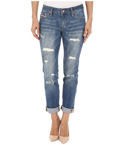 Imbracaminte Femei Jag Jeans Alex Boyfriend Capital Denim in Blue Carbon Blue Carbon