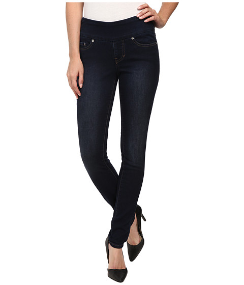 Imbracaminte Femei Jag Jeans Nora Pull-On Skinny Knit Denim in Dark Whale Dark Whale
