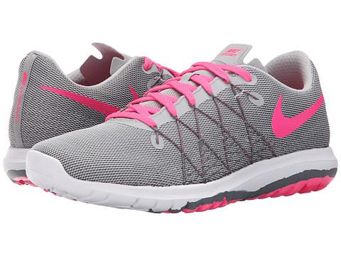 Incaltaminte Fete Nike Flex Fury 2 (Big Kid) Wolf GreyDark GreyWhiteHyper Pink