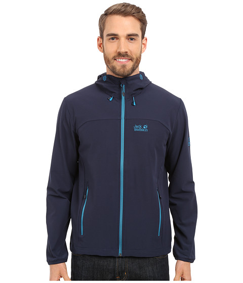 Imbracaminte Barbati Jack Wolfskin Turbulence Jacket Night Blue