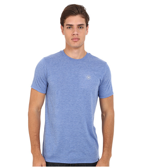 Imbracaminte Barbati Hurley Staple Dri-Blend Tee Heather Sports Blue