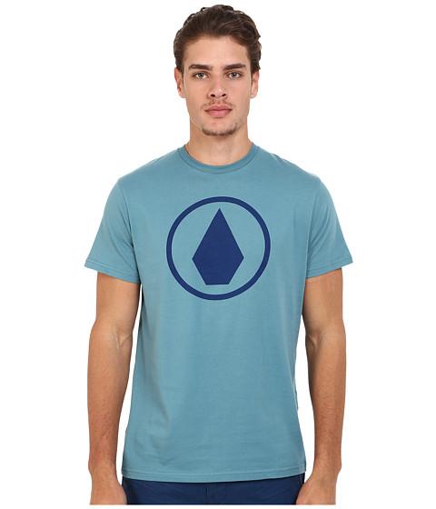 Imbracaminte Barbati Volcom Solid Stone Short Sleeve Tee Stormy Blue
