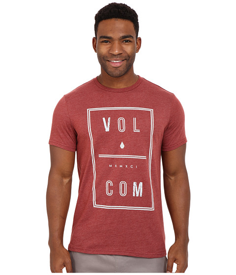 Imbracaminte Barbati Volcom Saturday Tee Port Heather