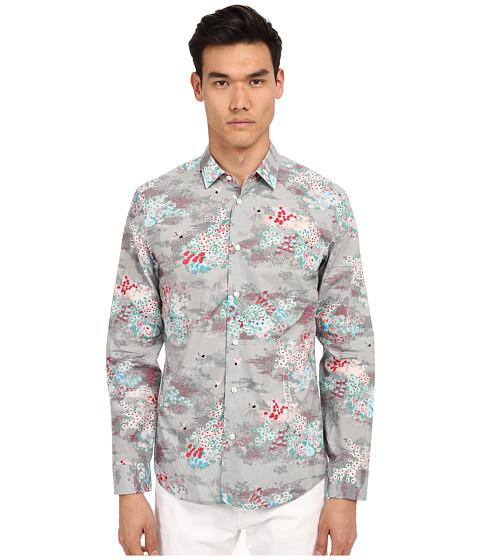 Imbracaminte Barbati Marc Jacobs Mellow Meadow Slim Button Up Grey Multi