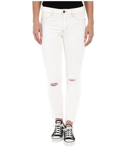 Imbracaminte Femei Billabong Hot Mama Raw Edge Jeans White Sands