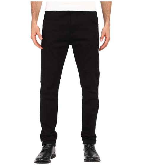 Imbracaminte Barbati Kenneth Cole Slim Moto Knit Five-Pocket in Black Black