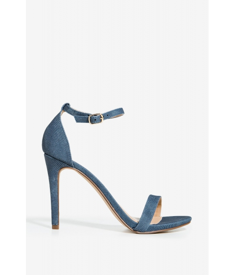 Incaltaminte Femei CheapChic Jaiden Best Dressed Heel Med Wash Denim