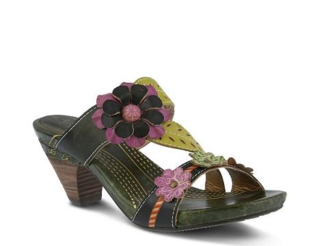 Incaltaminte Femei Spring Step L'Artiste by Spring Step Leonie Sandal Olive