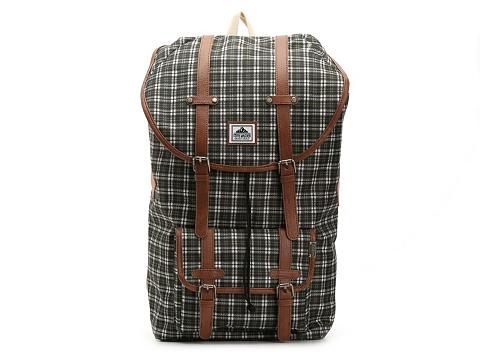 Accesorii Barbati Steve Madden Steve Madden Plaid Utility Backpack Green