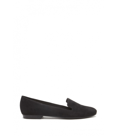 Incaltaminte Femei Forever21 Faux Suede Loafers Black