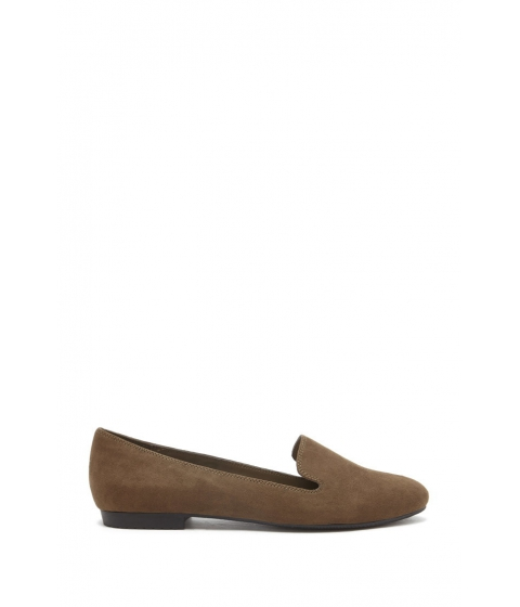 Incaltaminte Femei Forever21 Faux Suede Loafers Olive