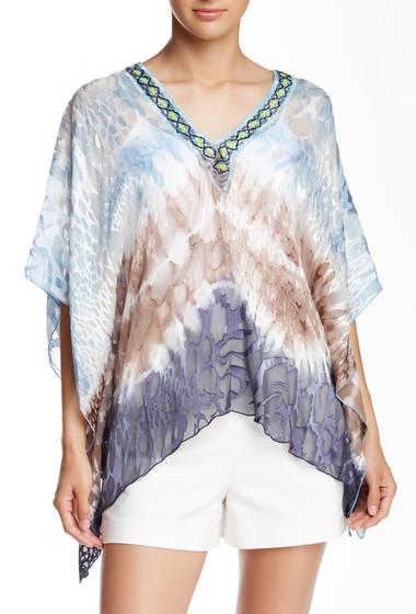 Imbracaminte Femei Hale Bob V-Neck Silk Blend Tunic Taupe