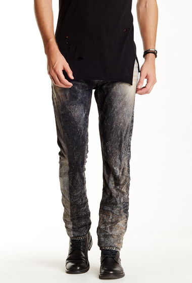 Imbracaminte Barbati Prps Demon - Taji Slim Straight Leg Jeans Grey IND