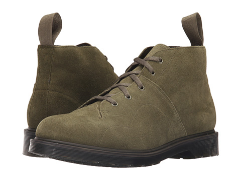 Incaltaminte Barbati Dr Martens Church 5-Eye Monkey Boot KhakiHi Suede WP