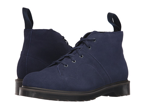 Incaltaminte Barbati Dr Martens Church 5-Eye Monkey Boot NavyHi Suede WP