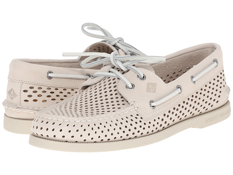 Incaltaminte Barbati Sperry Top-Sider AO 2-Eye Laser Perf Ivory