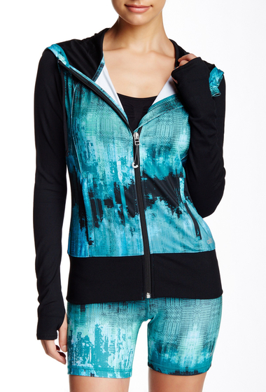 Imbracaminte Femei Alo Flow Jacket DEEP TEAL DESERT SUNSET-BLACK