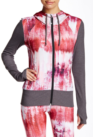 Imbracaminte Femei Alo Flow Jacket DESERT SUNSET-STORMY HEATHER