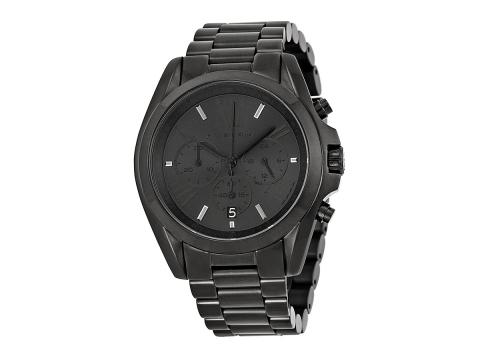 Ceasuri Femei Michael Kors Bradshaw Chronograph Black Dial Unisex Watch Black