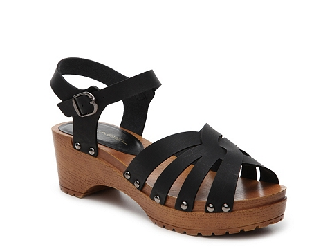 Incaltaminte Femei C Label Hean Wedge Sandal Black