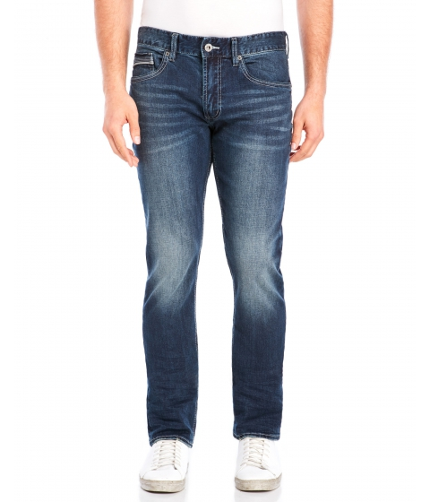 Imbracaminte Barbati Buffalo David Bitton Ash-X Skinny Stretch Jeans Dark Blue