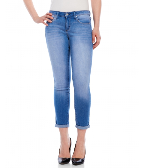 Imbracaminte Femei Jessica Simpson Forever Rolled Skinny Jeans Fresh Blue