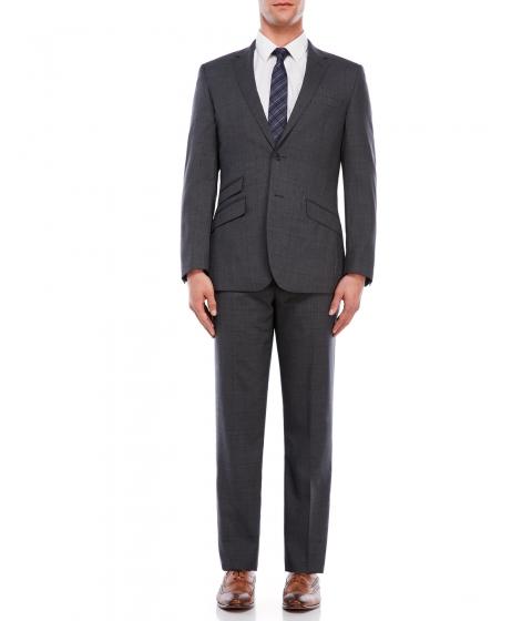 Imbracaminte Barbati English Laundry Gray Tunnel Plaid Suit Grey