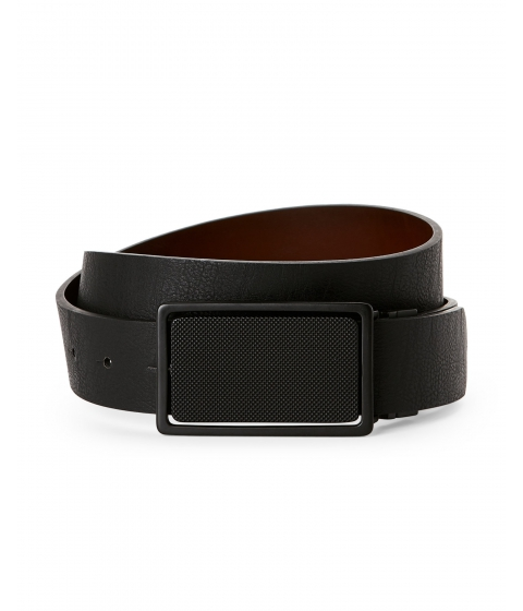 Accesorii Barbati Buffalo David Bitton Black Brown 4-Way Reversible Belt Black Brown