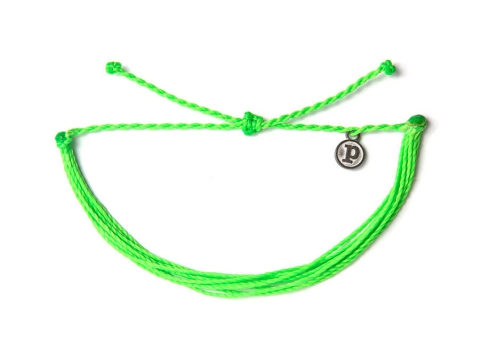 Accesorii Femei Pura Vida Solid NEON Green Multicolor