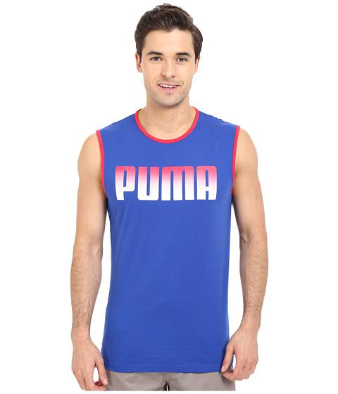 Imbracaminte Barbati PUMA Running Logo Tank Top Surf The Web