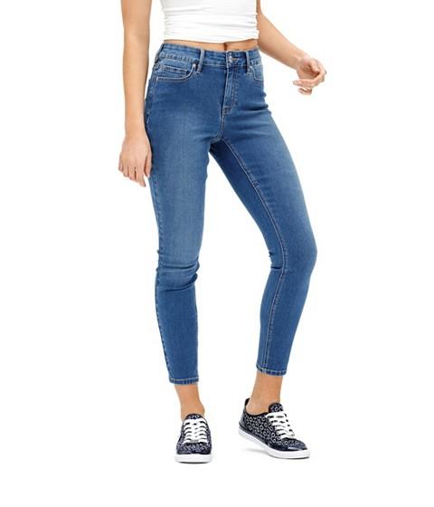 Imbracaminte Femei GUESS Tahiana High-Rise Skinny Jeans medium wash