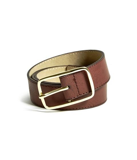 Ceasuri Femei GUESS Script Logo Belt brown