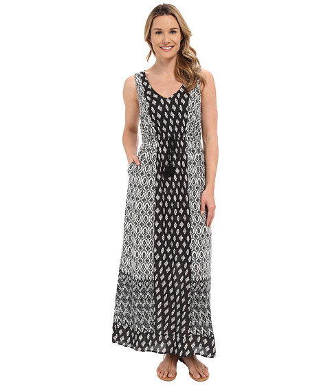 Imbracaminte Femei Lucky Brand Woodblock Mixed Dress Black Multi