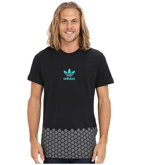 Imbracaminte Barbati adidas Sole Pattern Tee BlackEQT Green