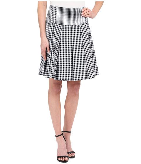 Imbracaminte Femei MICHAEL Michael Kors Fit Flare Pleat Skirt New Navy