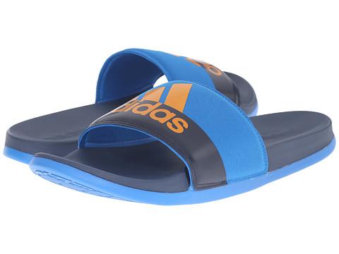 Incaltaminte Barbati adidas adilette SC Plus M Mineral BlueEQT OrangeShock Blue